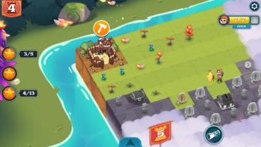 Скриншот android игры Merge Kingdom