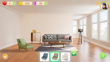 Скриншот android игры Homecraft: Home Design Game