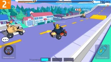 Скриншот android игры LoL Karts: Multiplayer Racing