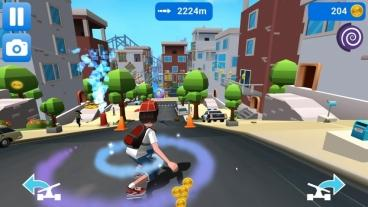 Скриншот android игры Faily Skater