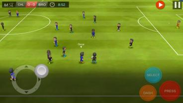 Скриншот android игры Mobile Soccer League