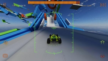 Скриншот android игры Jet Car Stunts 2