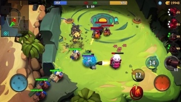 Скриншот android игры WILD League (Pig Bang)