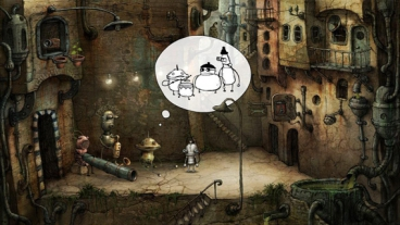 Скриншот android игры Machinarium / Машинариум