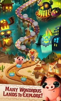 Скриншот android игры The Book Of Life: Sugar Smash