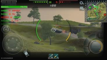 Скриншот android игры Tank Force: Real War