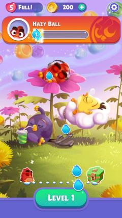 Скриншот android игры Angry Birds: Dream Blast