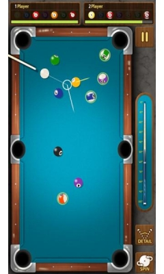 Скриншот android игры The King Of Pool Billiards / Король Бильярда