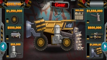Скриншот android игры Monster Car: Hill Racer