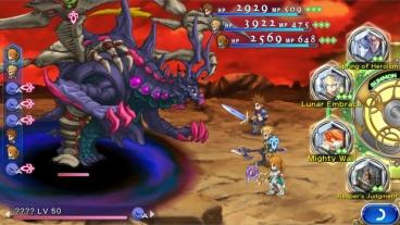 Скриншот android игры Final Fantasy Dimensions 2