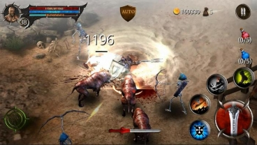 Скриншот android игры Blood Warrior / Воин Крови
