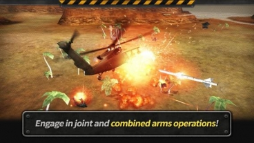 Скриншот android игры Gunship Battle: Helicopter 3D