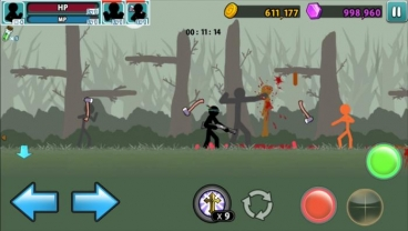 Скриншот android игры Anger Of Stick 5: Zombie