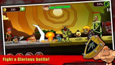 Скриншот android игры Legend vs Zombies / Легенда Против Зомби