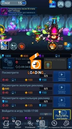 Скриншот android игры Catch Idle: Dimension Warp Story