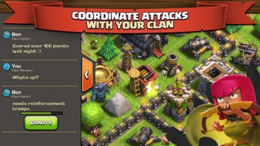 Скриншот android игры Clash Of Clans