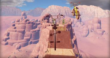 Скриншот android игры Touchgrind BMX 2