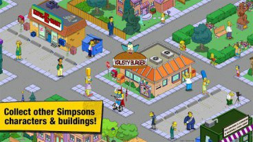Скриншот android игры The Simpsons: Tapped Out / Симпсоны: Переворот