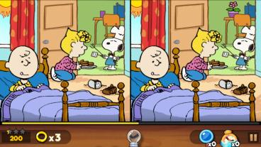 Скриншот android игры Snoopy: Spot The Difference