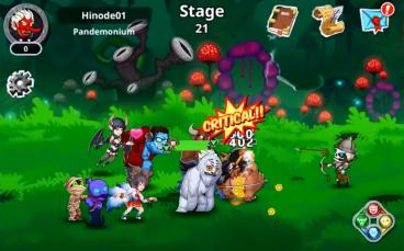 Скриншот android игры Epic Monsters: Idle RPG