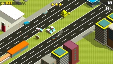 Скриншот android игры Crazy Cars Chase
