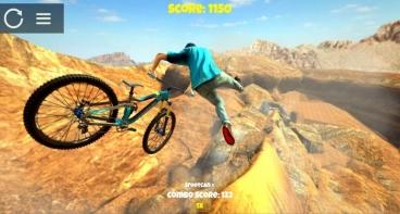 Скриншот android игры Shred! 2: Freeride Mountain Biking