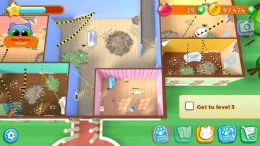 Скриншот android игры Kitty Keeper: Cat Collector