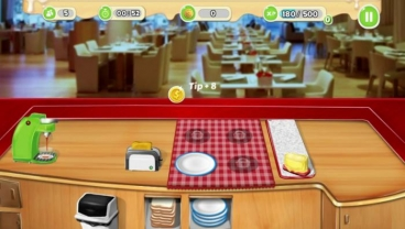 Скриншот android игры Breakfast Cooking Mania