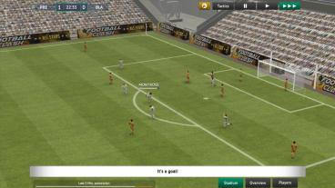 Скриншот android игры Soccer Manager 2019