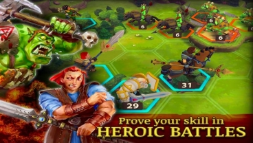 Скриншот android игры Warlords Of Aternum