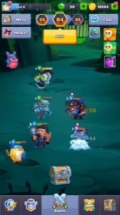 Скриншот android игры Taptap Heroes