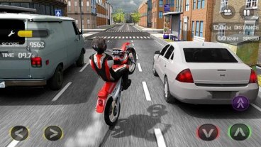 Скриншот android игры Race The Traffic: Moto