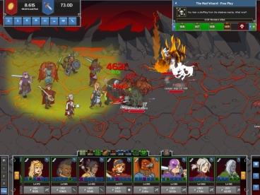 Скриншот android игры Idle Champions Of The Forgotten Realms