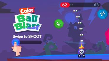 Скриншот android игры Color Ball Blast