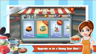 Скриншот android игры Rising Super Chef