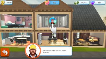 Скриншот android игры Holly's Home Design