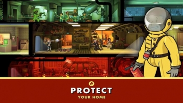 Скриншот android игры Fallout Shelter