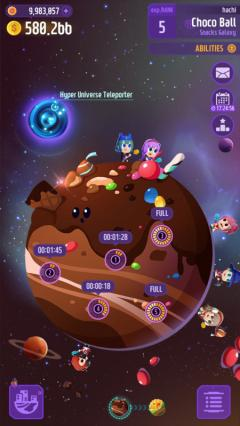 Скриншот android игры Space Mining