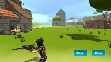 Скриншот android игры Rocket Royale