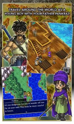 Скриншот android игры Dragon Quest V: Hand Of The Heavenly Bride