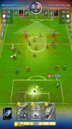 Скриншот android игры Total Soccer: Road To Glory