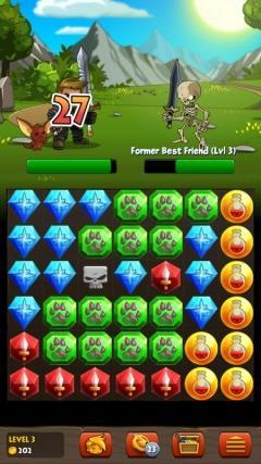 Adventure Quest: Battle Gems v1 2 18 - скачать андроид игру