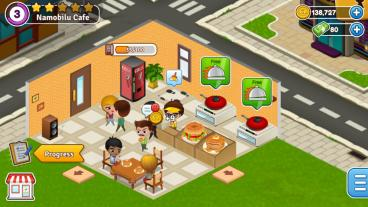 Скриншот android игры Cafeland: World Kitchen