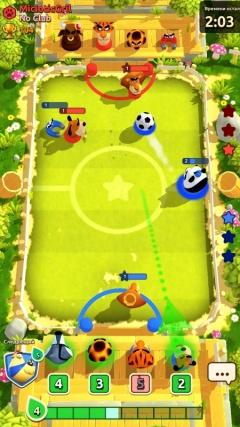 Скриншот android игры Rumble Stars Soccer