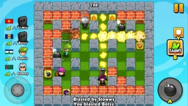 Скриншот android игры Bomber Friends