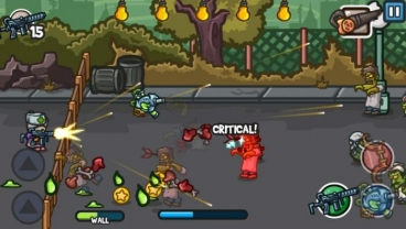 Скриншот android игры Zombie Guard