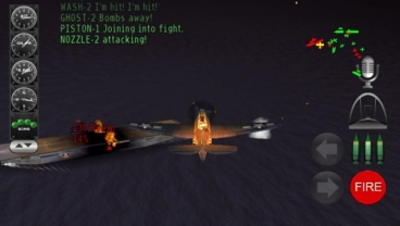 Скриншот android игры Pacific Navy Fighter: Commander Edition