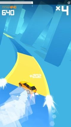 Скриншот android игры Drift It