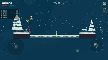 Скриншот android игры Stick Fight: The Game