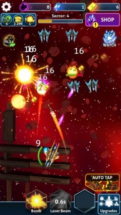Скриншот android игры Idle Space